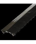 Shingle-over ridge vent